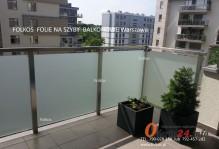 Folia na balkon Rydygiera