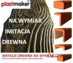 Imitacja drewna NA WYMIAR Plastmaker
